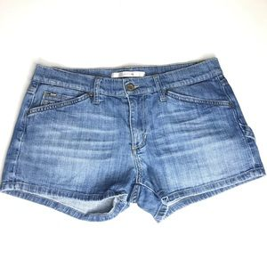 Joe's Jeans Shorts Twisted Cuff Design 30